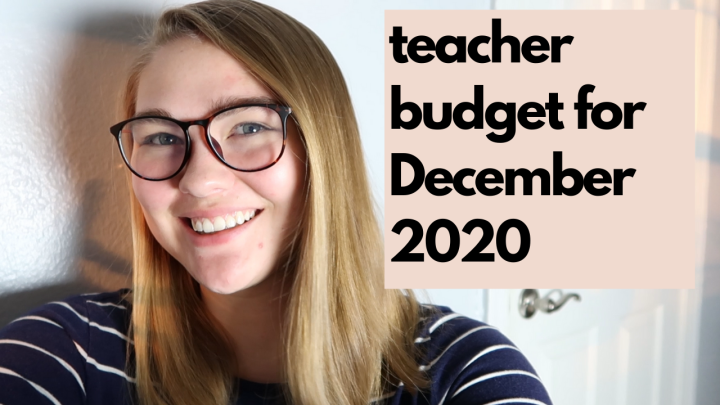 Budget with Me December 2020